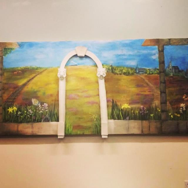 Abbeyleix FEC Art Department brings a flavour of Italy to the Town.